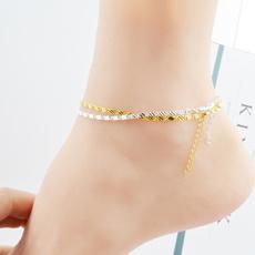 Fashion, Anklets, gold, Ladies Fashion