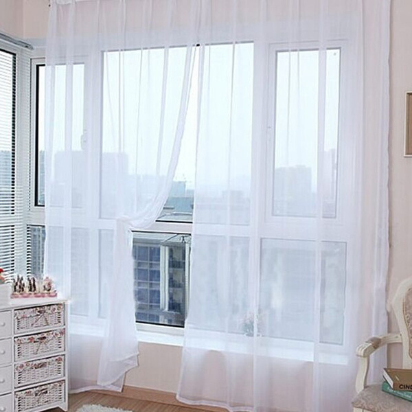 bedroomcurtain, rainbow, luxurysheercurtain, Fashion