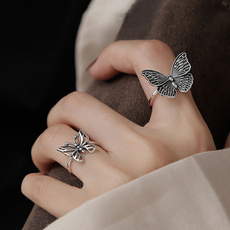butterfly, Sterling, Fashion, Simple