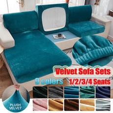 velvet, couchcover, Elastic, Waterproof