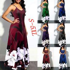 Sleeveless dress, Plus Size, vestidos femininos, long dress