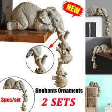 elephantfigurine, animalfigurine, Gifts, creativeornamentselephant