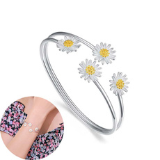 party, Flowers, 925 sterling silver, Jewelry