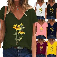 Summer, Womens Blouse, Graphic Shirt, summer t-shirts