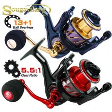 spinningreel, trollingfishingreel, Bass, Outdoor Sports