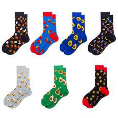 Fun, Socks, Couple, avocado