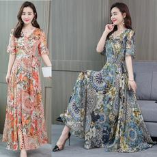slim dress, long skirt, Fashion, Waist