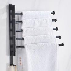 towelbarrack, Bathroom, Towels, steelbasket