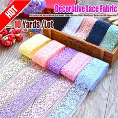 Craft Supplies, Beautiful, Fabric, lace trim