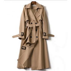Elegant, Plus Size, trenchcoatforwomen, Outerwear