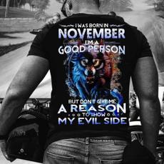 wolfprinttshirt, Fashion, Shirt, Evil
