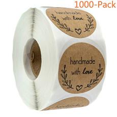 Love, packagelabel, Stickers, Handmade