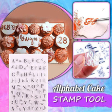 cakestamptool, stencil, rubberstamp, alphabet