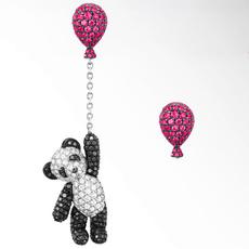 pink, Fashion, Jewelry, Stud Earring