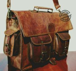 messengershoulderbag, officelaptopbag, leather, Vintage
