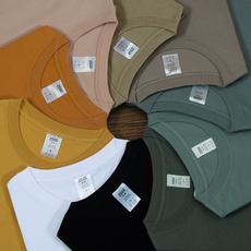 Fashion, menssummertshirt, Cotton T Shirt, Sleeve
