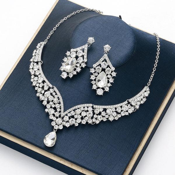 Fashion, Jewelry, Bridal Jewelry Set, Ladies Fashion