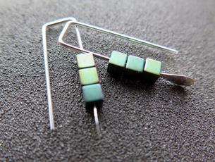 earringforwomen, Sterling, Turquoise, Gemstone Earrings