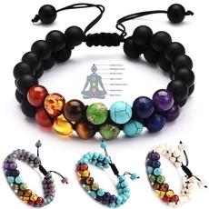 Bracelet, braidedropebead, Yoga, Jewelry