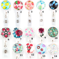 butterfly, Fashion, retractable, Clip