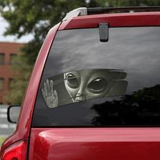alien, Decal, Cars, wishdecal