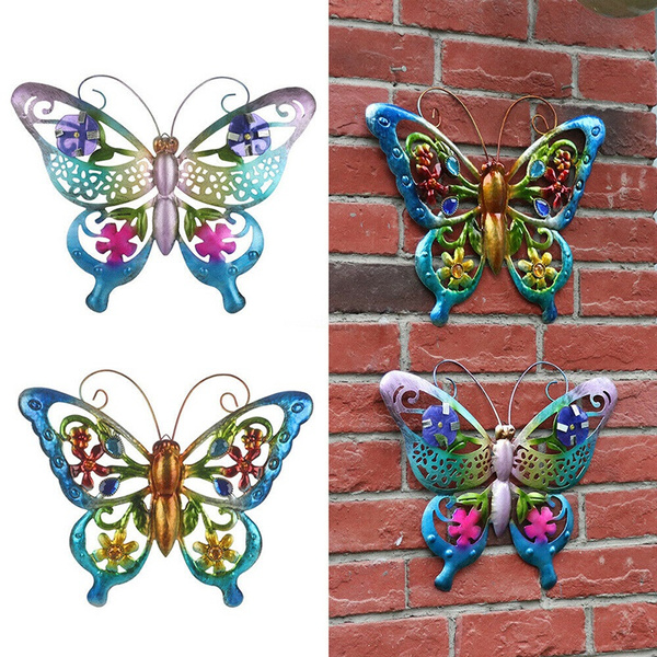 butterfly, metalgla, Decor, Outdoor