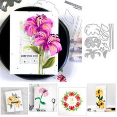 Craft, Flowers, leaf, lily