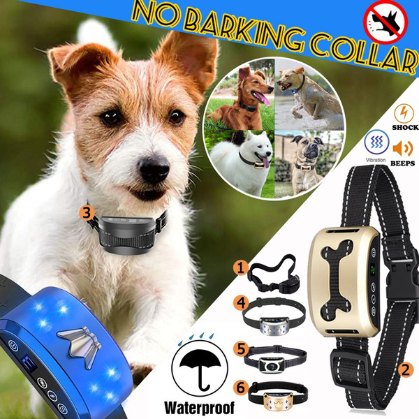 stopbarking, Rechargeable, Dog Collar, usb