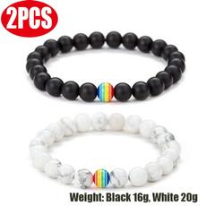 rainbow, Jewelry, lgbt, Bracelet