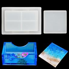 Storage Box, decoration, Coasters, Silicone