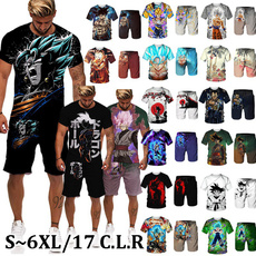 Summer, Shorts, japananime, Sleeve