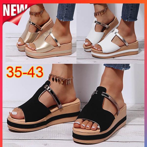 Summer, Flip Flops, Fashion, Platform Shoes