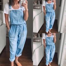 Jeans, Plus Size, denim overalls women, Denim