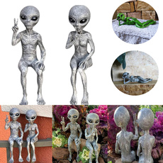 Home & Kitchen, aliengardenstatue, art, Garden