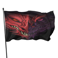 flagbanner, headofangryreddragonflag3x5ft, freegaza, freepalestine