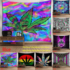 tapestrywall, tapestrywallmap, leaf, hippie