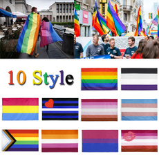rainbow, palestineflag, Love, gay