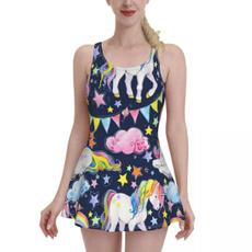 Beautiful, bathing suit, Fashion, rainbow