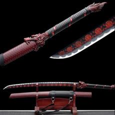 longsword, Steel, Samurai, leather
