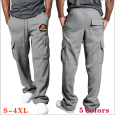 Men, Elastic, Bottom, pants