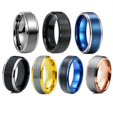 Steel, 8MM, Jewelry, Stainless steel ring