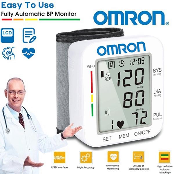 omron, Heart, bloodpressure, heartmonitor