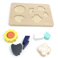 Toy, woodenshapepuzzle, Wooden, weathershapepuzzle
