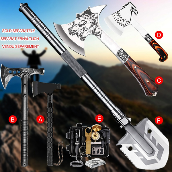 Weapons, shovel, Survival, camping