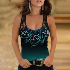 butterfly, Summer, sleeveless, Fashion