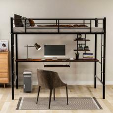 lofts, Shelf, Desk, Beds