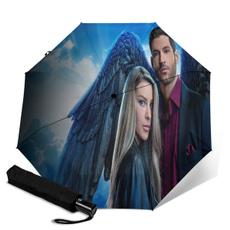Umbrella, raincoverprotection, Gifts, thinlizzyautomatictrifoldumbrella