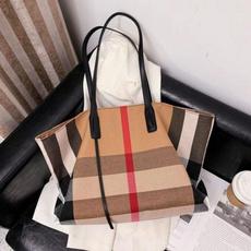 women bags, Shoulder Bags, plaid, Capacity