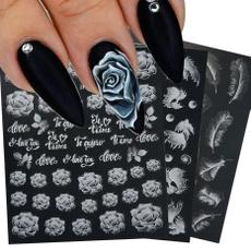 butterfly, diysummernailart, nail stickers, art