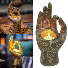 Collectibles, buddhastatue, resinfigurine, Office